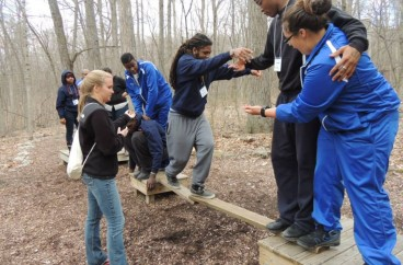 Team Building Activities & Rope Course Challenge